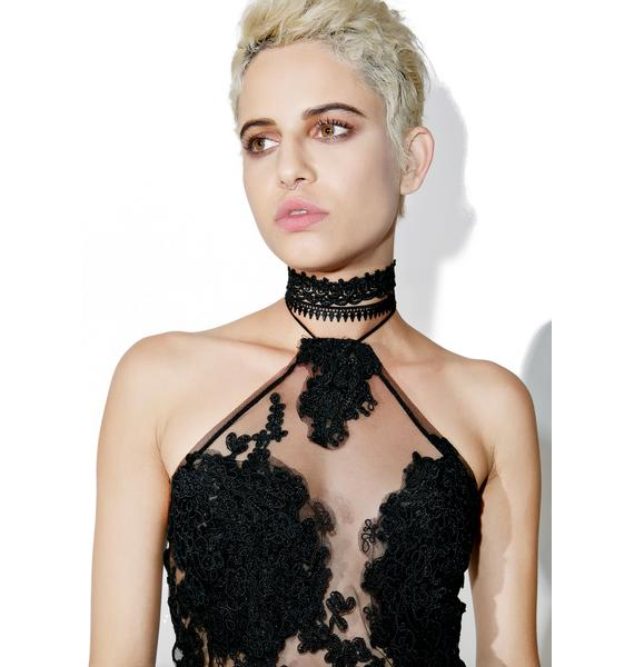 Odette Lace Choker Set