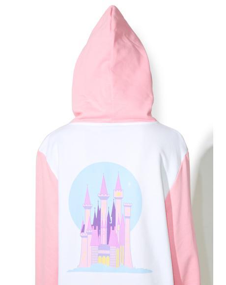 X Disney Cinderella Castle Hoodie
