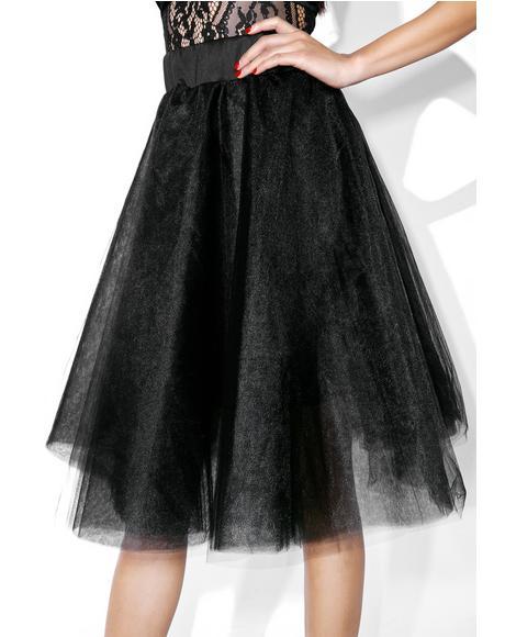Dark Magick Tulle Skirt