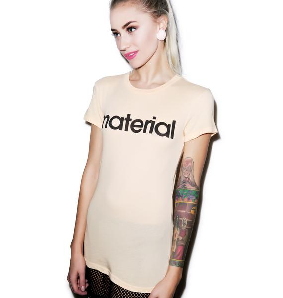 Wildfox Couture Material Tourist Crewneck Tee