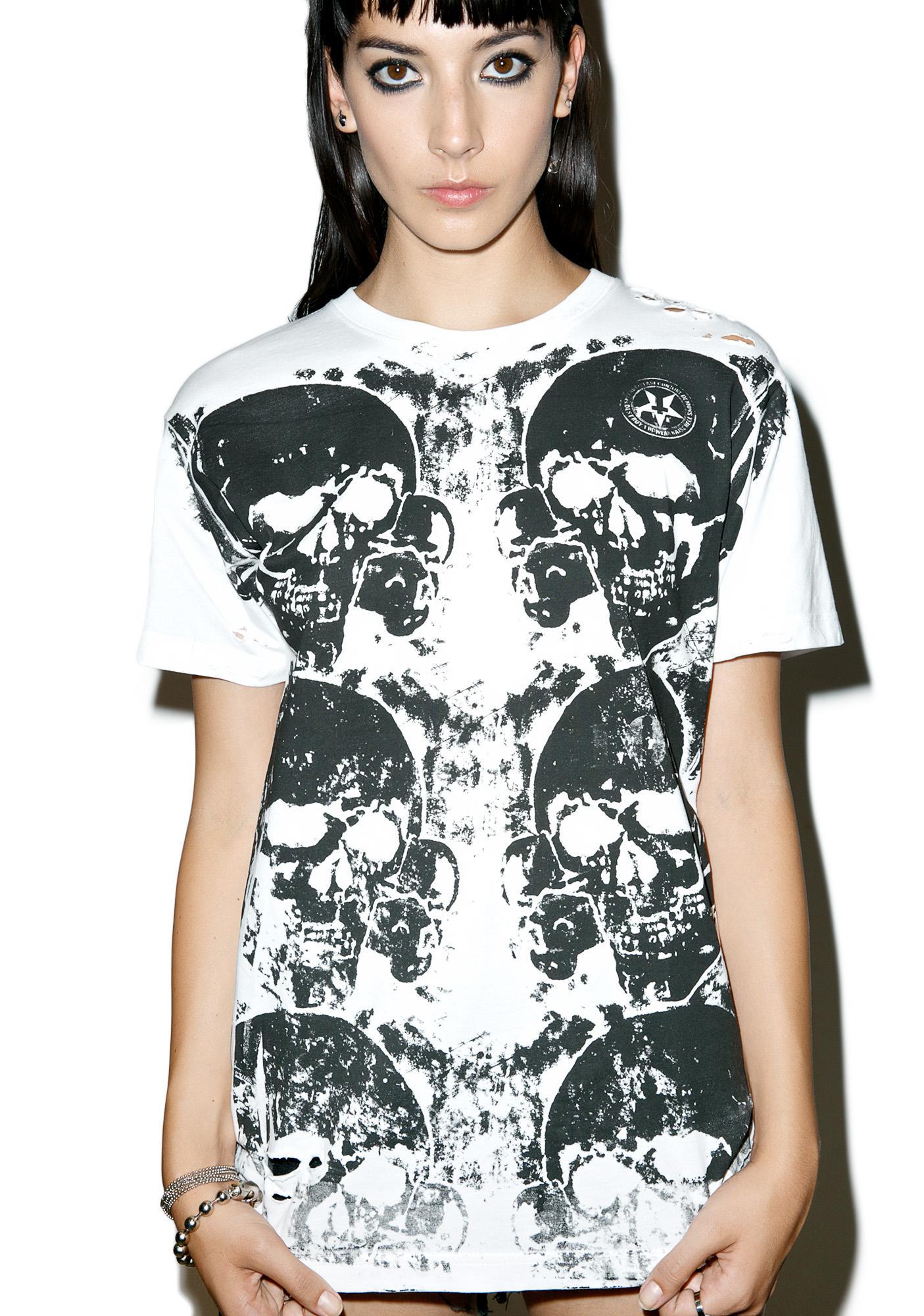 Junker Motley Skull T-Shirt