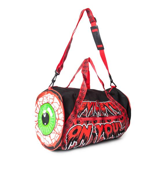 Kreepsville 666 Eyeball Barrel Bag