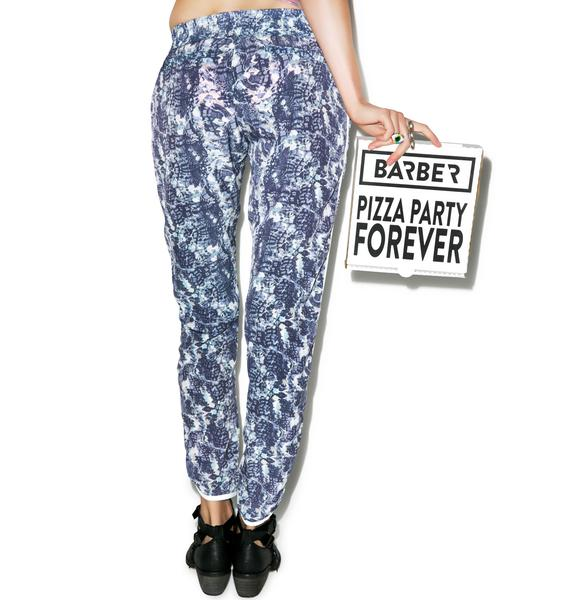 Barber Aw Snap Pizza Party Pants