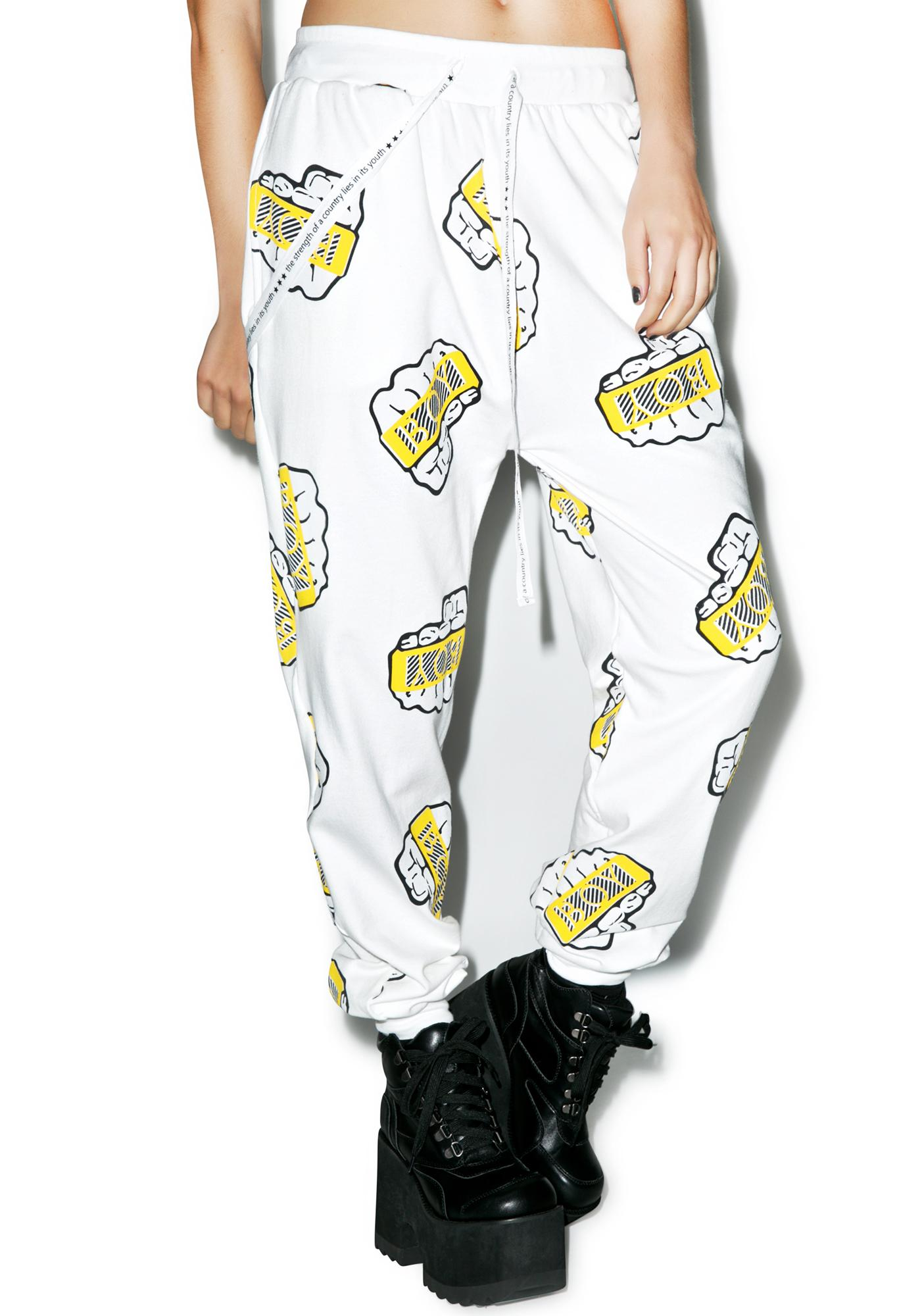 BOY London Boy Knuckles Sweatpants