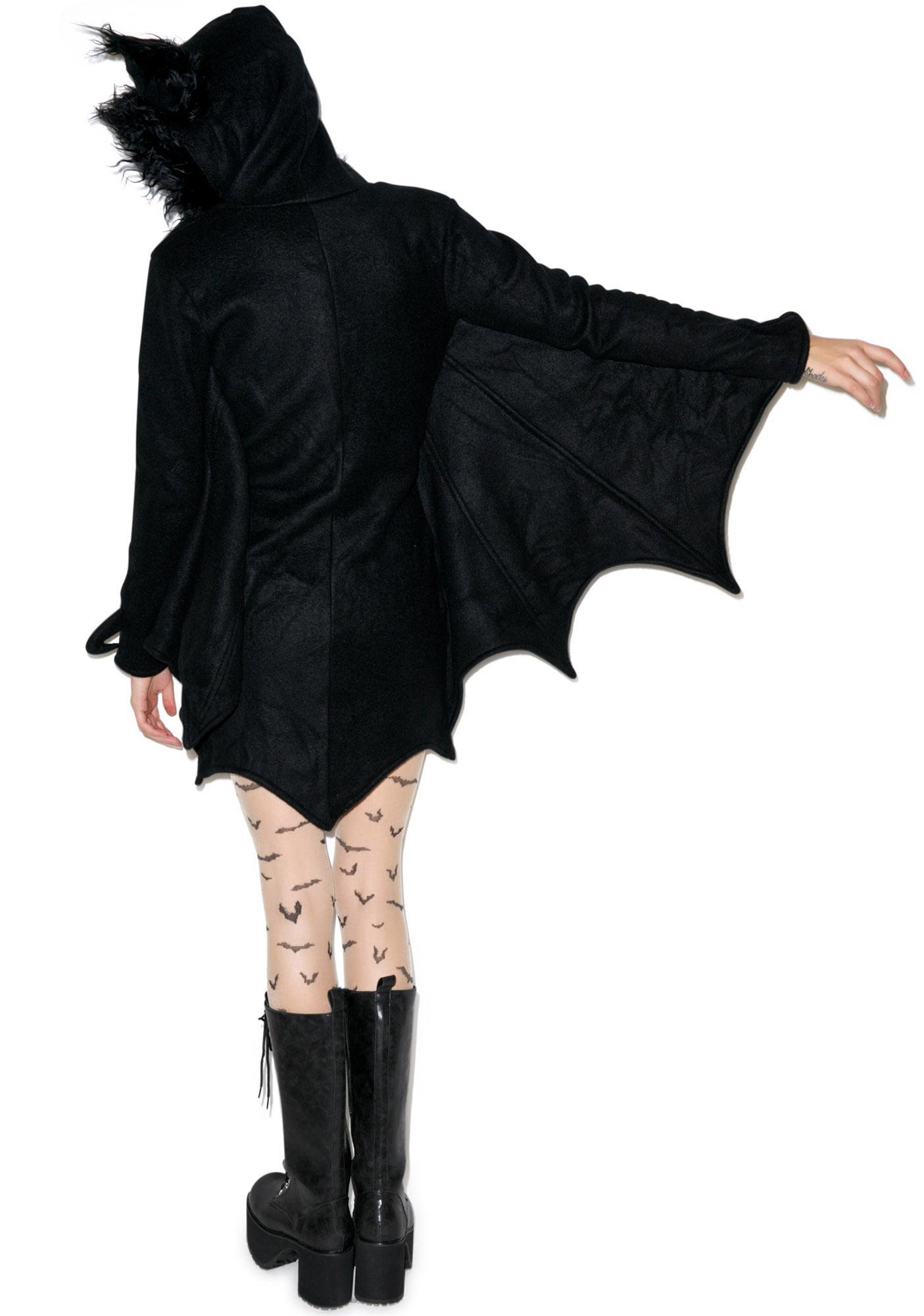 Hangin' Out Bat Hoodie