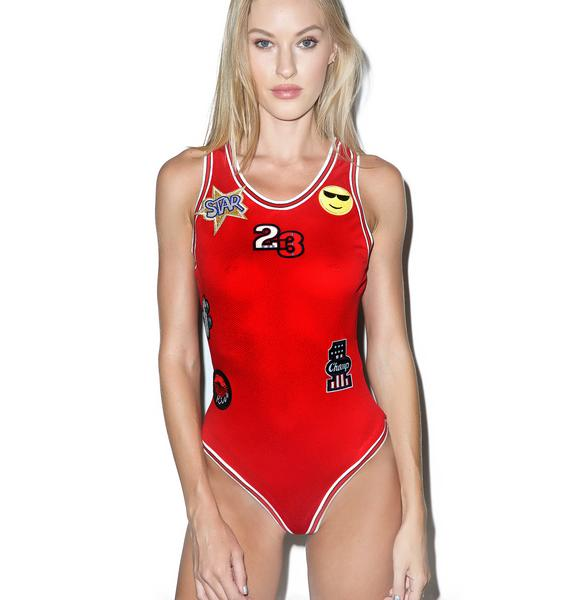 G.O.A.T. Patches Bodysuit