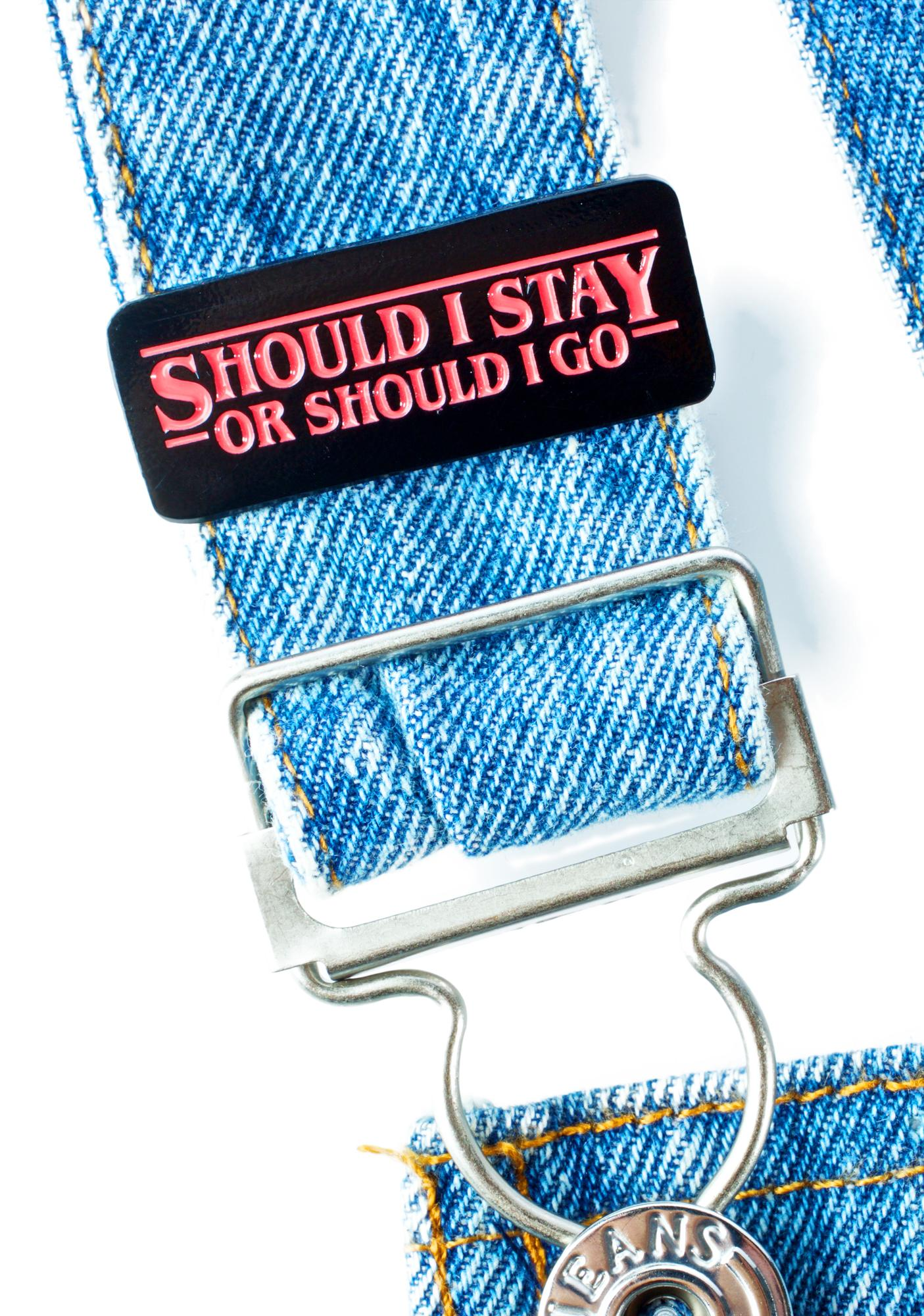 Band of Weirdos Should I Stay Or Should I Go Pin