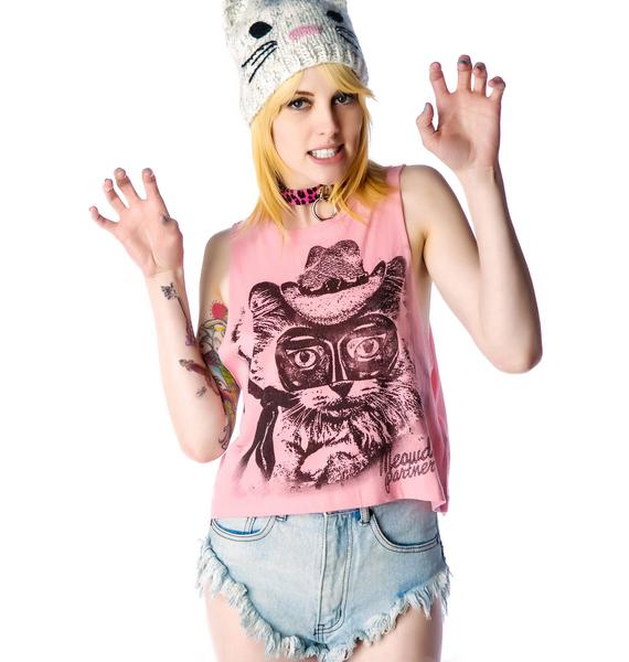 Iron Fist Lone Pussy Crop Muscle Tank