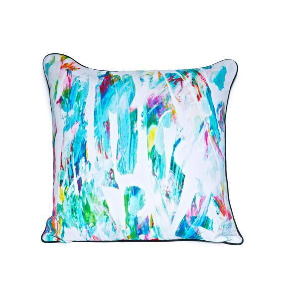 Paint Strokin' Pillow