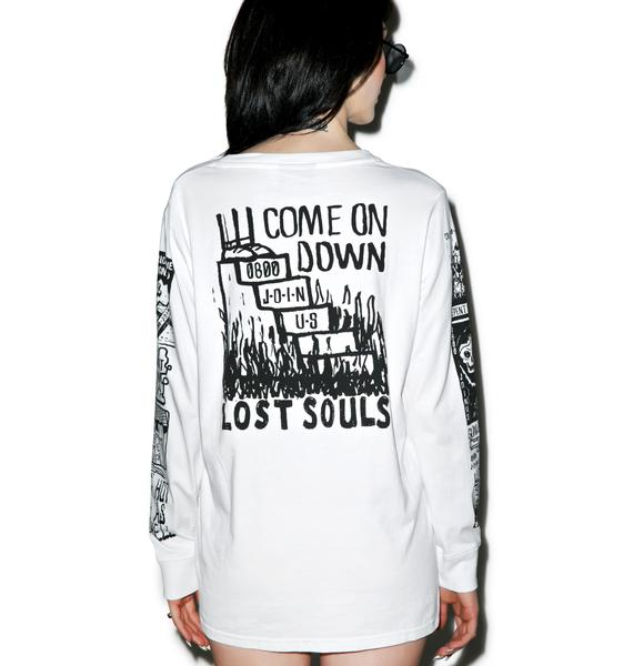 Lazy Oaf Follow The Signs Long Sleeve T-Shirt