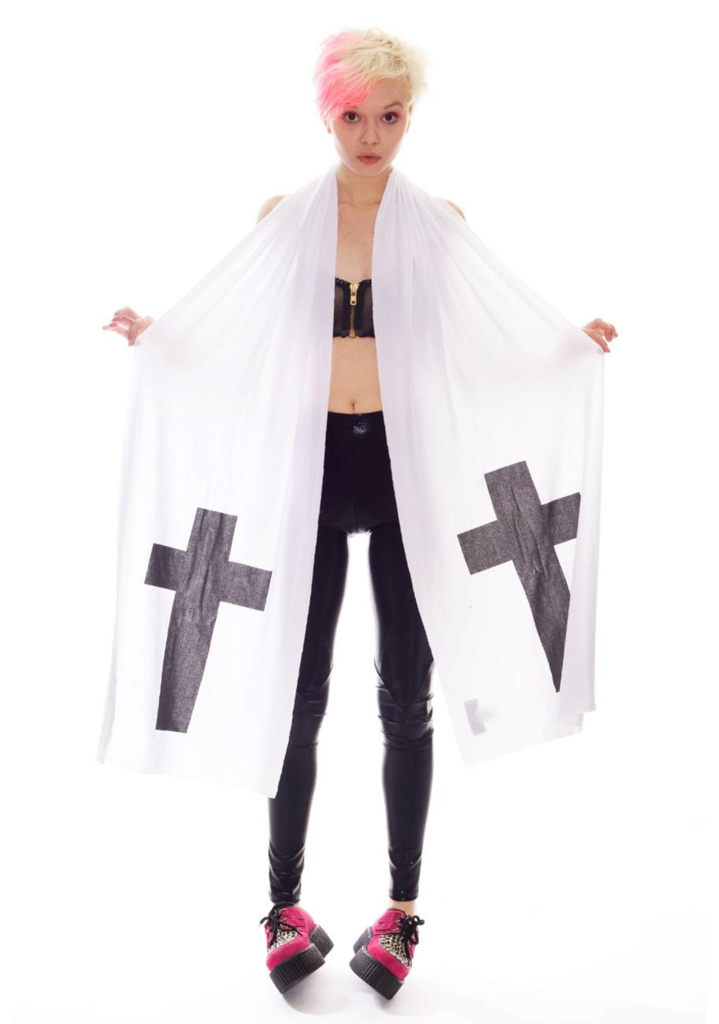 Wildfox Couture Simple Cross Sailboat Scarf