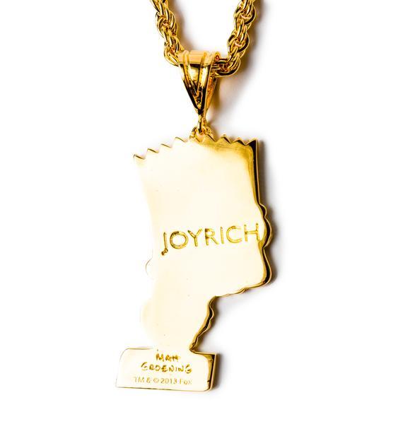 Joyrich Bart Face Necklace