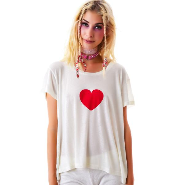 Wildfox Couture I Heart Tokyo Lazy Weekend Tee