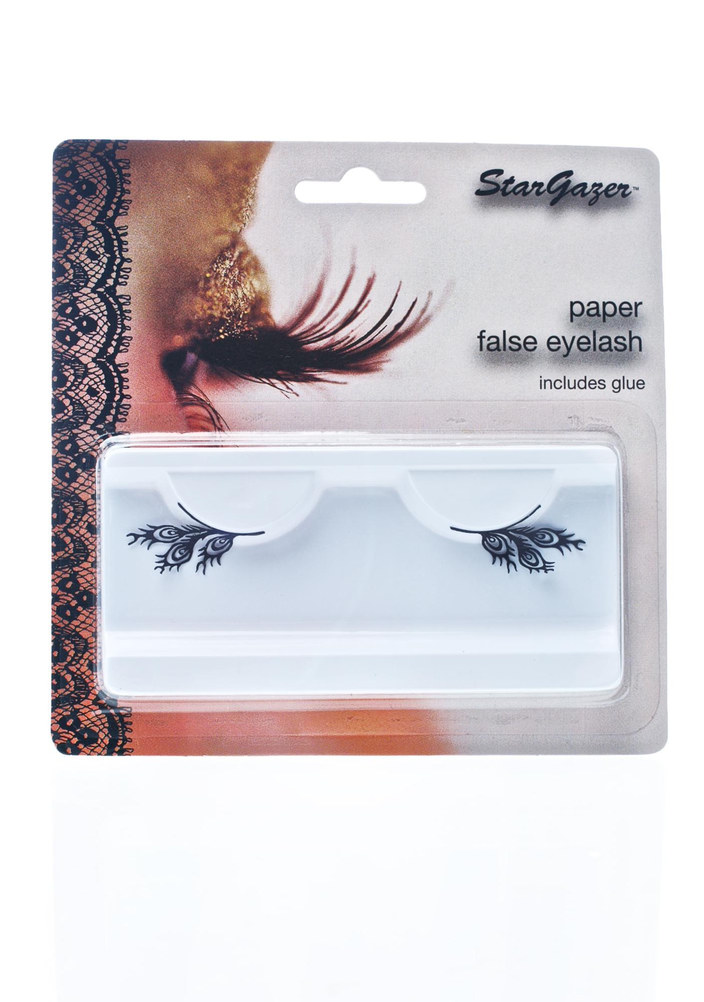 Stargazer Feathers Paper Eye Lash