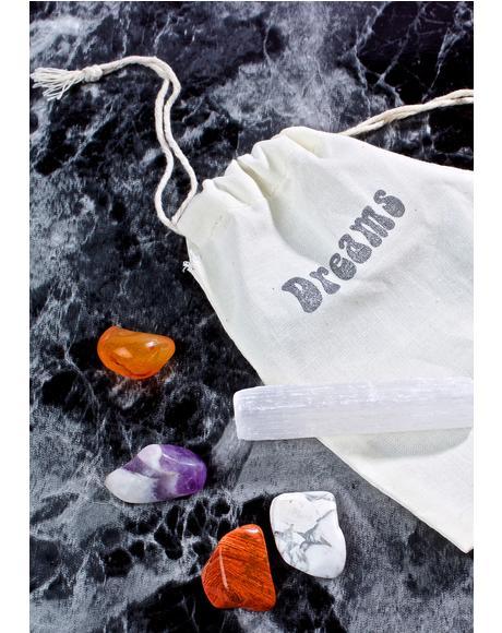 Sweet Dreams Healing Crystals Set