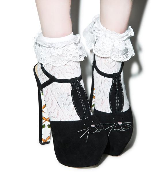 Taylor Says Bunny Hop Platform Heels