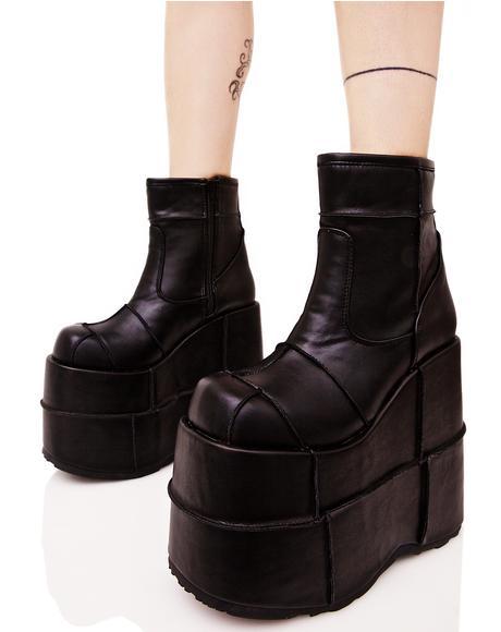 Stack Soul Stomper Platform Boots
