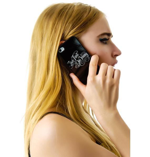 Disturbia Live Fast iPhone 4/4s Case