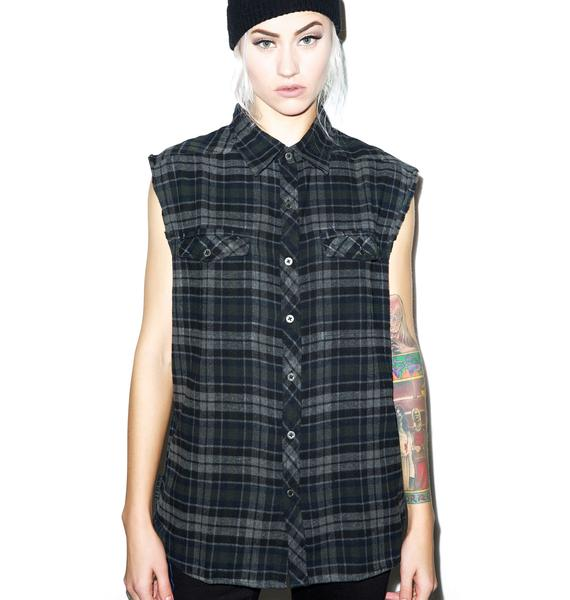 Nasty Pig Sleeveless Flannel