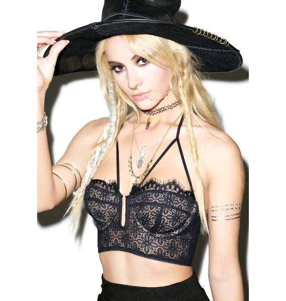 For Love & Lemons Wanted And Wild Bustier