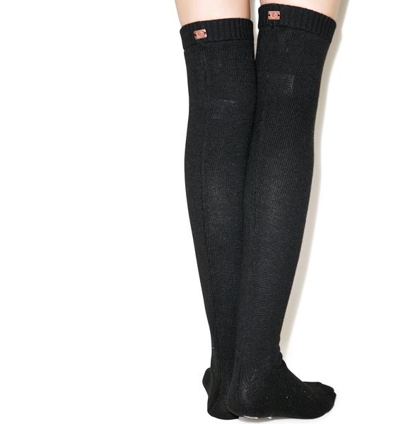 For Love & Lemons Alpine Over The Knee Socks
