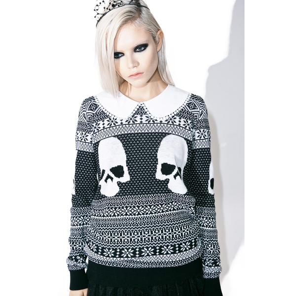 Iron Fist Girly Ghoul Sweater