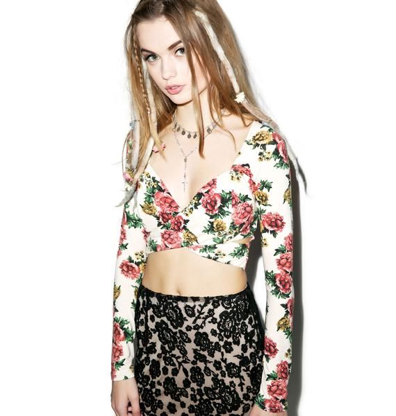 Flirt All Day Crop Top