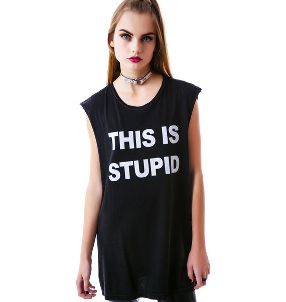 24HRS This Is Stupid-Why Am I Here Tee