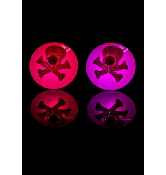 Sasswear Skull LED Pasties