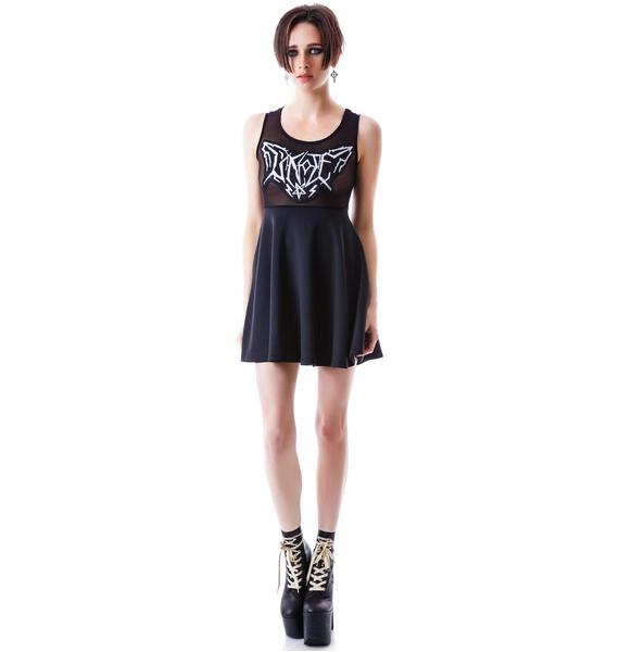 UNIF Metal Mesh Dress