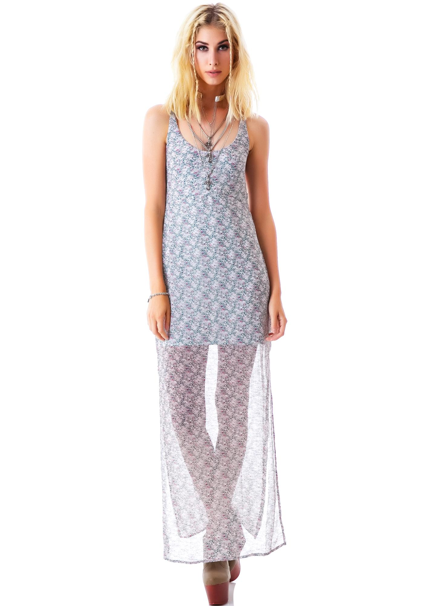 For Love & Lemons Midnight Cowgirl Maxi