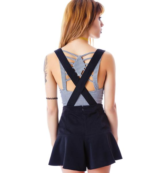 Suspended Suspender Shorts