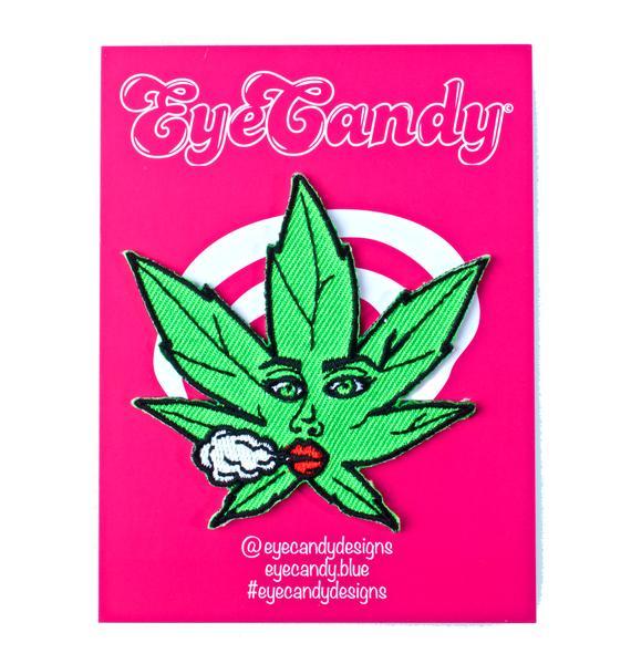 Eye Candy Designs Marijuana Miley Iron On Patch