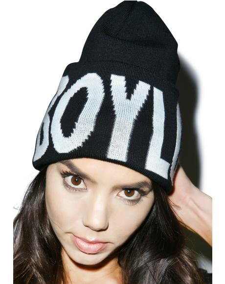 BOY Hightop Beanie