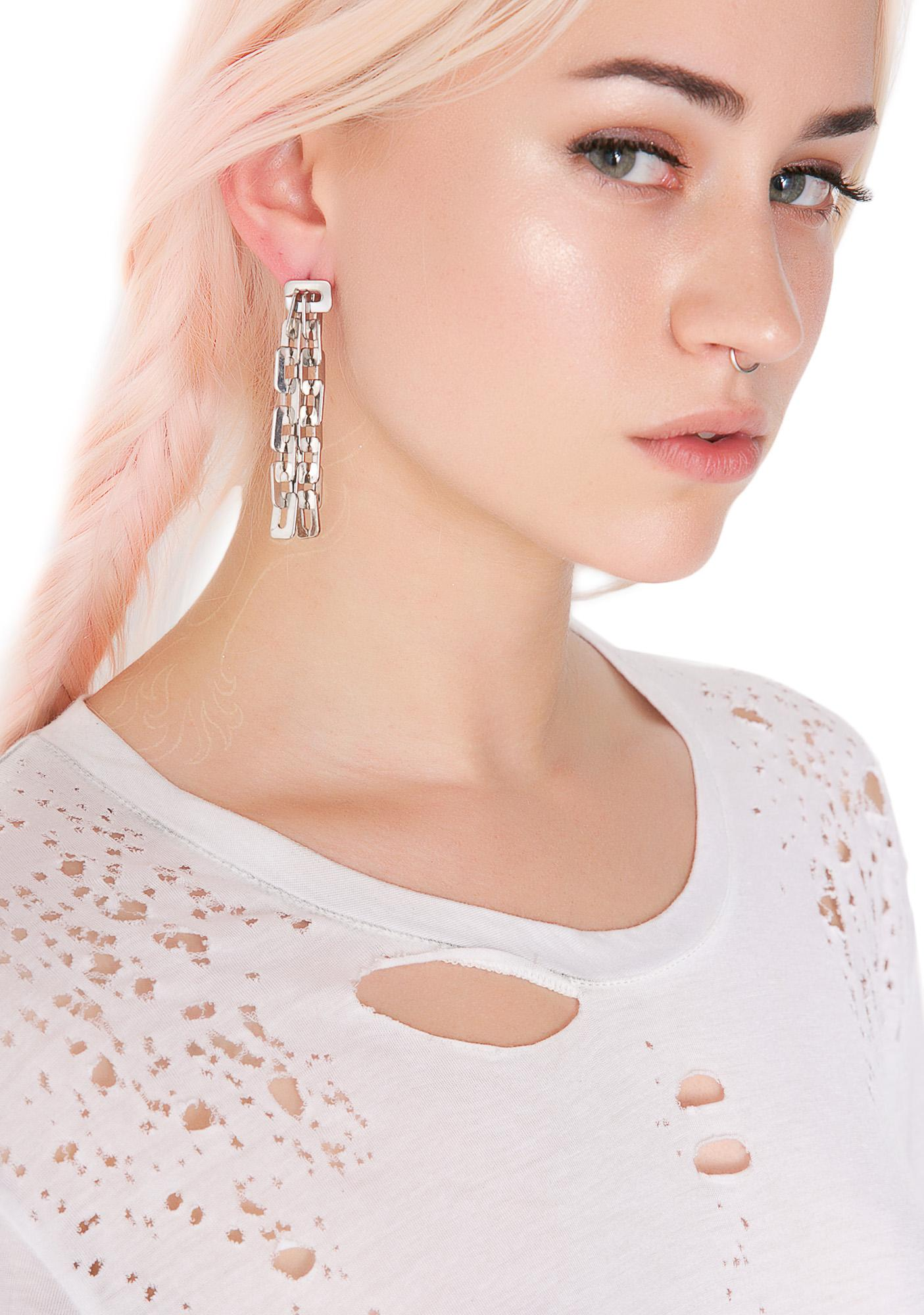 Shackled Earrings