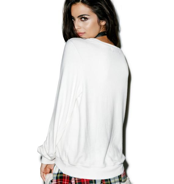 Wildfox Couture Easy Costume Baggy Beach Jumper