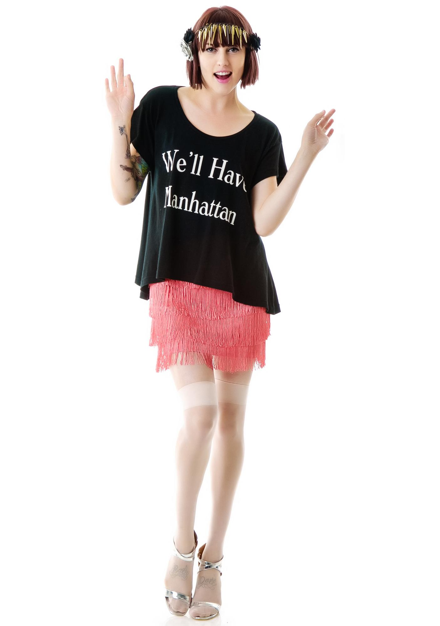 Wildfox Couture We'll Have a Manhattan Lazy Weekend Tee