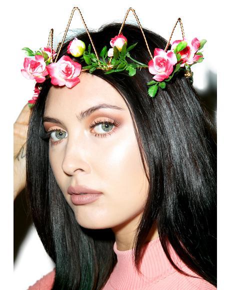 Pink Flora Crown