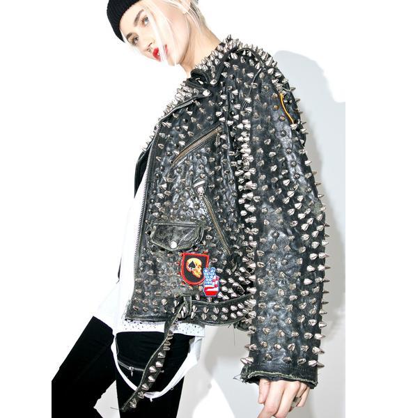 Hazmat Design Vintage Deadstock Born To Die Jacket