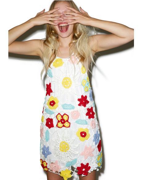 Beach Bouquet Crochet Dress