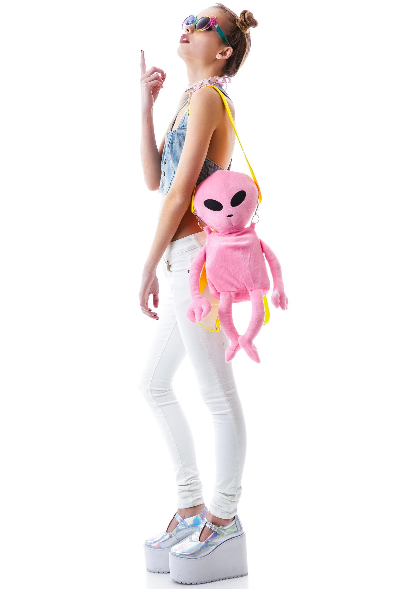 Lost E.T. Alien Backpack