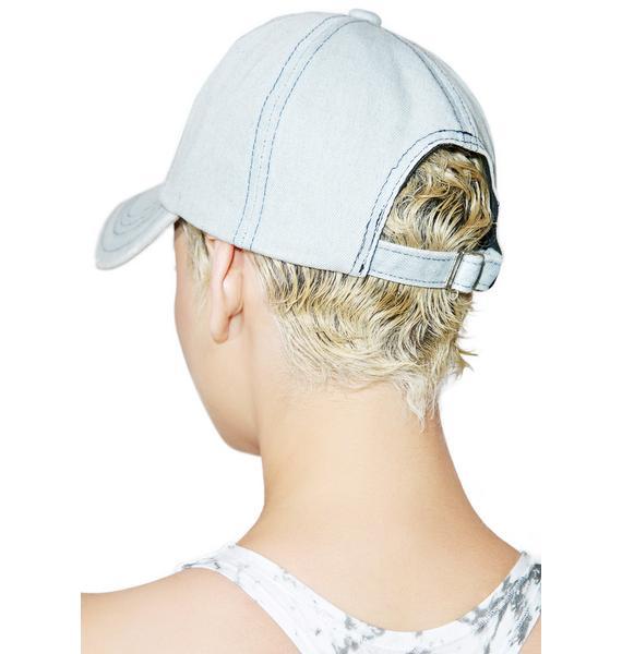 Destroyed Denim Dat Hat