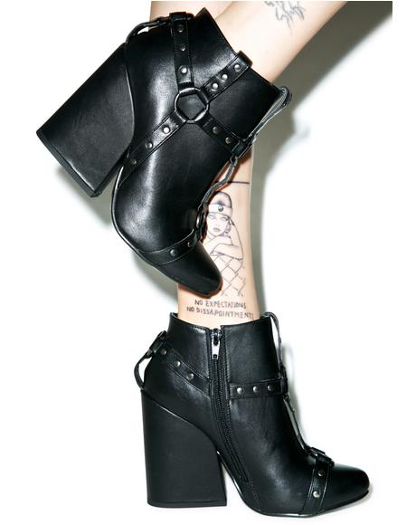 Craft Harness Ankle Boots