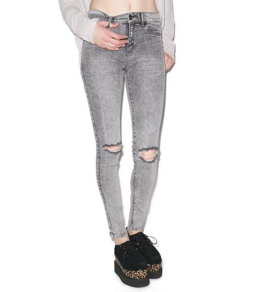Totally Waisted Skinny Jeans