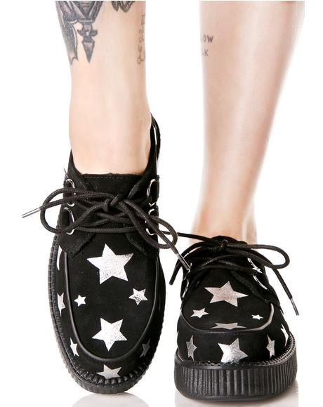 Suede Viva Star Creepers