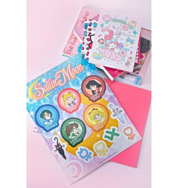 Sailor Senshi Sticker Pack