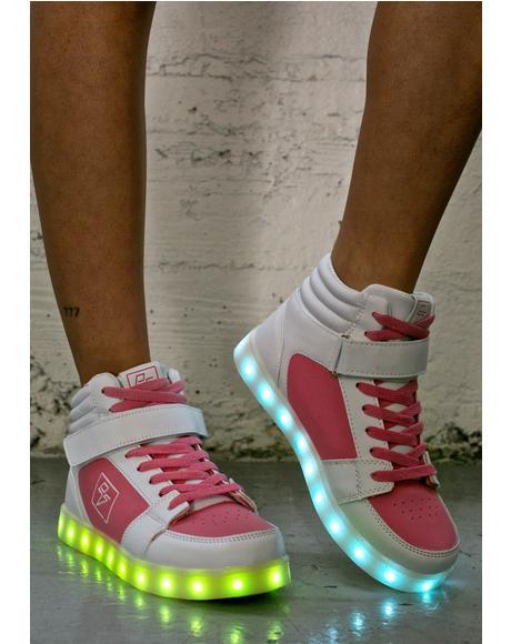 Athena Light Up High Top Shoes