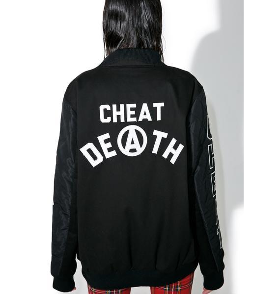 Iron Fist Cheat Death Bomber Jacket