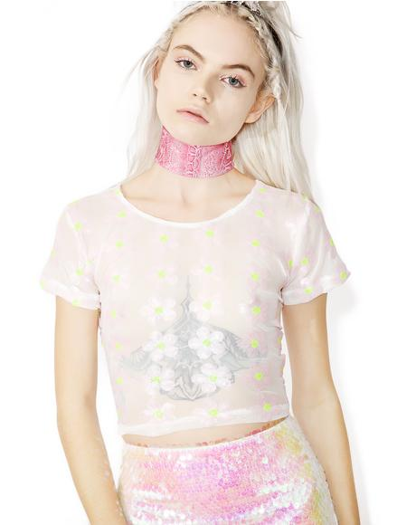 Daisy Dreamz Crop Top