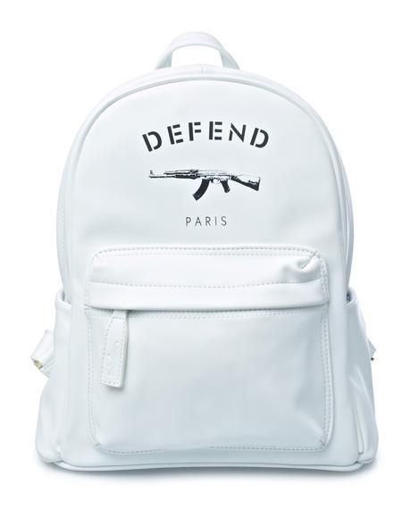 White AK Backpack